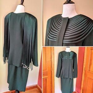 Vintage Karen Lauren for Matthew jacket and skirt